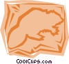 Vector Clip Art graphic  of a Beaver
