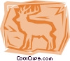 Vector Clip Art picture  of a Deer
