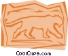 Vector Clipart graphic  of a Lions