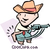 Vector Clipart graphic  of a Quick-draw