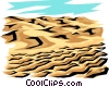 Land erosion Vector Clip Art picture