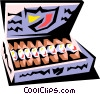 Vector Clip Art picture  of a Cigars
