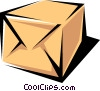 Vector Clipart graphic  of a Package