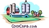 Farm scene Vector Clip Art picture