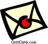 Vector Clip Art graphic  of a Letter