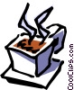 Vector Clipart graphic  of a Hot drink