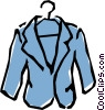 Sports jacket Vector Clipart graphic