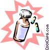 Vector Clipart image  of a Pills