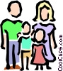Vector Clipart graphic  of a Family symbol