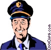 Vector Clipart graphic  of a Pilot