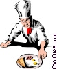 Chef Vector Clipart illustration