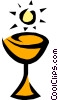 Vector Clip Art graphic  of a Chalice