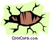 Vector Clipart graphic  of a Hole