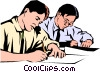 Students Vector Clip Art picture