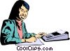 Woman Vector Clipart picture