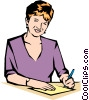 Woman Vector Clipart illustration