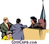 Judge Vector Clip Art graphic