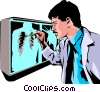 Vector Clipart graphic  of a Doctor