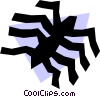Vector Clipart graphic  of a Spider