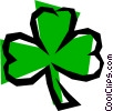 Vector Clipart graphic  of a Cloverleaf