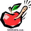 Apples Vector Clipart graphic