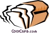 Vector Clipart picture  of a Loaf of bread