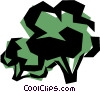 Cool broccoli Vector Clip Art graphic