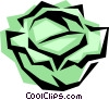 Vector Clipart image  of a Lettuce