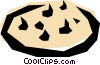 Chocolate chip cookie Vector Clipart graphic