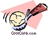 Vector Clipart picture  of a Ice cream