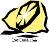 Vector Clip Art picture  of a Cool lemons