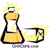 Butter Vector Clipart image