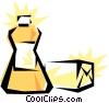 Butter Vector Clipart illustration