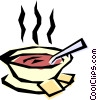 Vector Clipart graphic  of a Soups