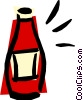 Vector Clipart graphic  of a Ketchup
