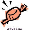 Vector Clipart graphic  of a Candy