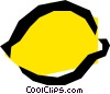Lemons Vector Clipart graphic