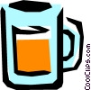 Vector Clip Art picture  of a Measuring cup