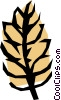 Vector Clipart graphic  of a Cereal grains