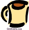 Cup of coffee Vector Clip Art graphic
