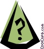 Vector Clipart illustration  of a Dunce's cap