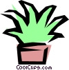 Vector Clipart picture  of a Plants
