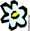 Vector Clip Art graphic  of a Flower