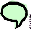 Vector Clipart graphic  of a Word balloon