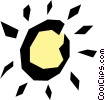 Sun Vector Clipart illustration