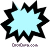 Vector Clip Art graphic  of a Word balloon