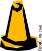 Vector Clipart graphic  of a Road markers