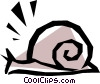 Vector Clipart illustration  of a Snails
