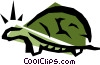 Vector Clip Art image  of a Turtles