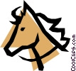 Vector Clip Art graphic  of a Horse